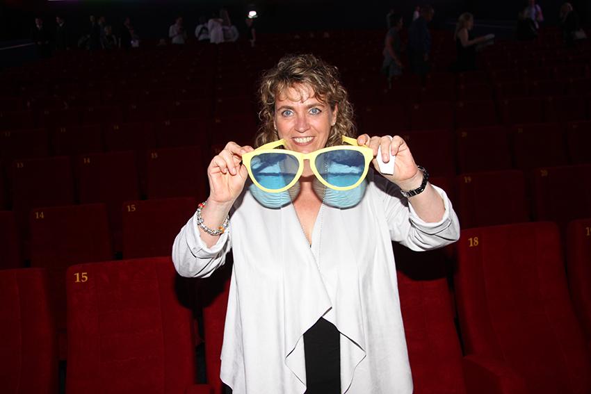 Sah nichts durch die rosarote Brille und brachte die Dinge auf den Punkt: Britta Petersen, 2. Vorsitzende des HoReB.